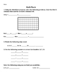 Multiplication Strategies Math Check