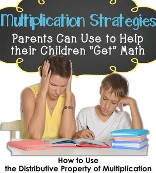 Multiplication Strategies Parent Freebie