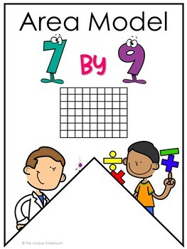 Multiplication Strategies Pennant Banners