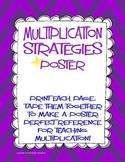 Multiplication Strategies Poster