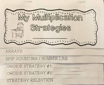 Multiplication Strategies Poster Pack - Mental Math