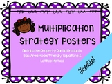 Multiplication Strategies Posters FREEBIE!