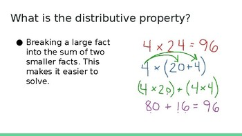 Multiplication Strategies Powerpoint
