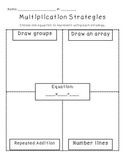 Multiplication Strategies Practice