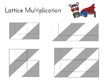 Multiplication Strategies Practice {With Lattice Dry Erase Template}
