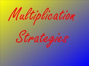 Multiplication Strategies Smartboard Lesson