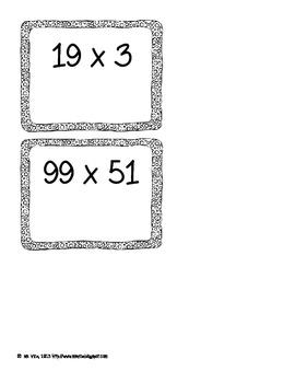 Multiplication Strategies Sort