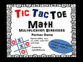 Multiplication Strategies Tic Tac Toe Game