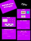 Multiplication Strategies & Tricks Flipchart