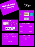 Multiplication Strategies & Tricks Flipchart