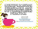 Differentiated Multiplication Math Stations AVMR Arrays St