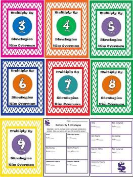 Multiplication Strategies for factors 3 - 9