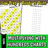 Multiplication Strategies Using Hundreds Charts