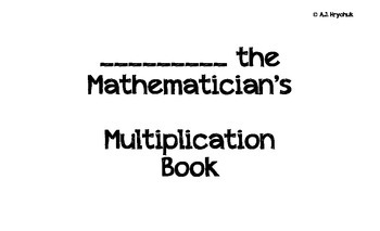 Multiplication Strategy Booklet