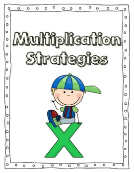 Multiplication Strategy Posters 0-11