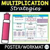 Multiplication Strategy Posters, Multiplication Graphic Organizer