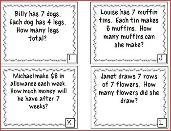 Multiplication Strategy Posters and Task Cards