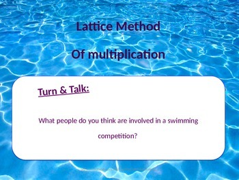 Multiplication Strategy and Practice Using the Lattice Method