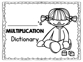 Multiplication Student Dictionary
