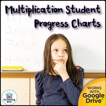 Multiplication Fact Mastery Student Progress Chart And Assessments