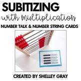 Multiplication Subitizing Cards | for Number Talks and Num