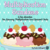 Multiplication Sundae Pack - includes division options