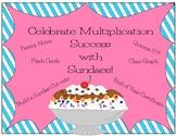 Multiplication Sundae~ Quizzes, Flashcards, Certificates,