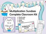 Multiplication Sundaes Complete Classroom Kit
