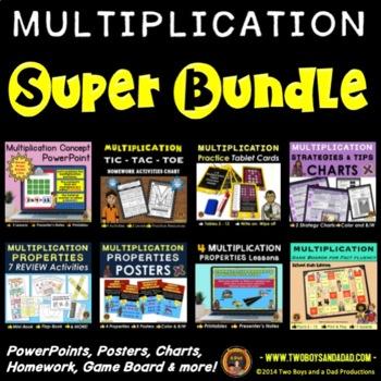Multiplication Super Bundle