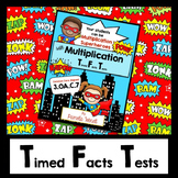 Multiplication Timed Facts to 100 -  CCSS Grade 3