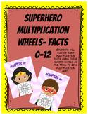 Multiplication Superhero Wheels