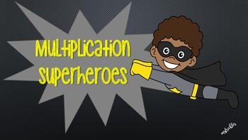 Multiplication Superheroes