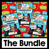 Multiplication Superheroes Bundle -  CCSS Aligned