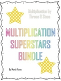 3s and 6s Multiplication Bundle