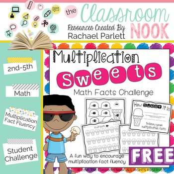 FREEBIE: Multiplication Sweets - A Fun Way to Practice Mul