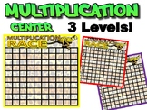 Multiplication TABLE center - for different levels