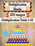 Multiplication Table Beads Clip Art