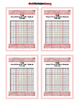 Multiplication Table = Poster/Anchor Chart with Cards for Students