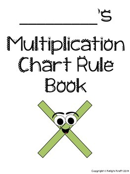Multiplication Table Student Booklet