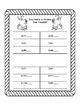 Multiplication Tables 1-4-Beach Theme