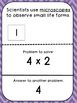 Multiplication Tables (4's)