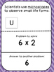 Multiplication Tables (6's)