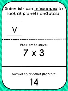 Multiplication Tables (7's)