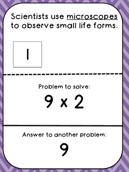 Multiplication Tables (9's)