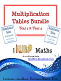 Multiplication Tables Bundle - Yr 3 & Yr 4