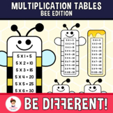 Multiplication Tables Clipart Bee Math Basic Operations Back To School Insect