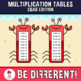 Multiplication Tables Clipart (Crab Edition)