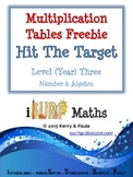 Multiplication Tables Freebie