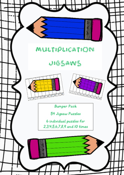 Multiplication Tables - Jigsaw Puzzles