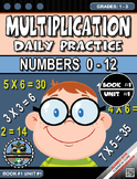 Multiplication Morning Warm-Up Practice #0-12 Grades 1-3